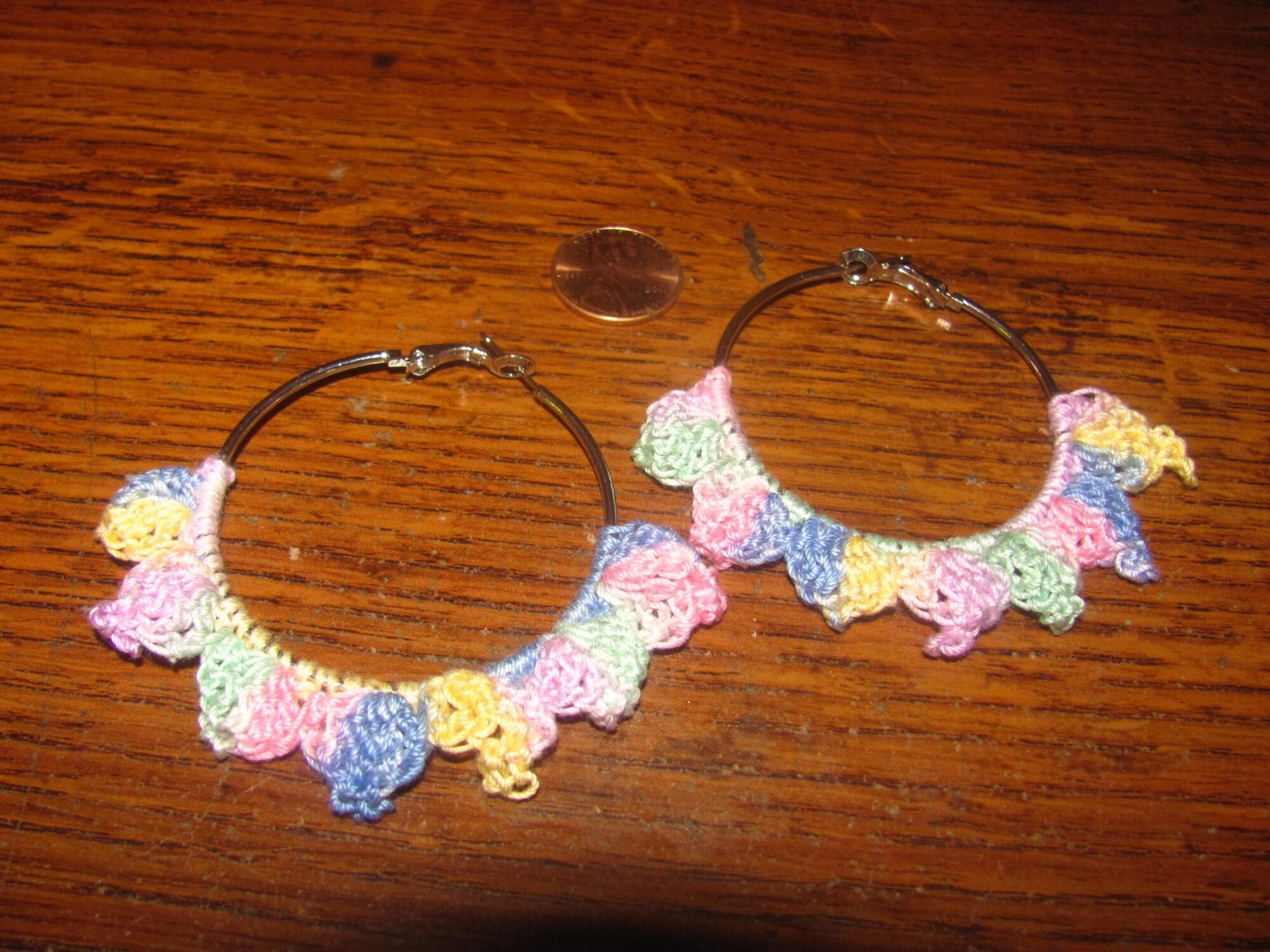 Pastel Picot Earrings