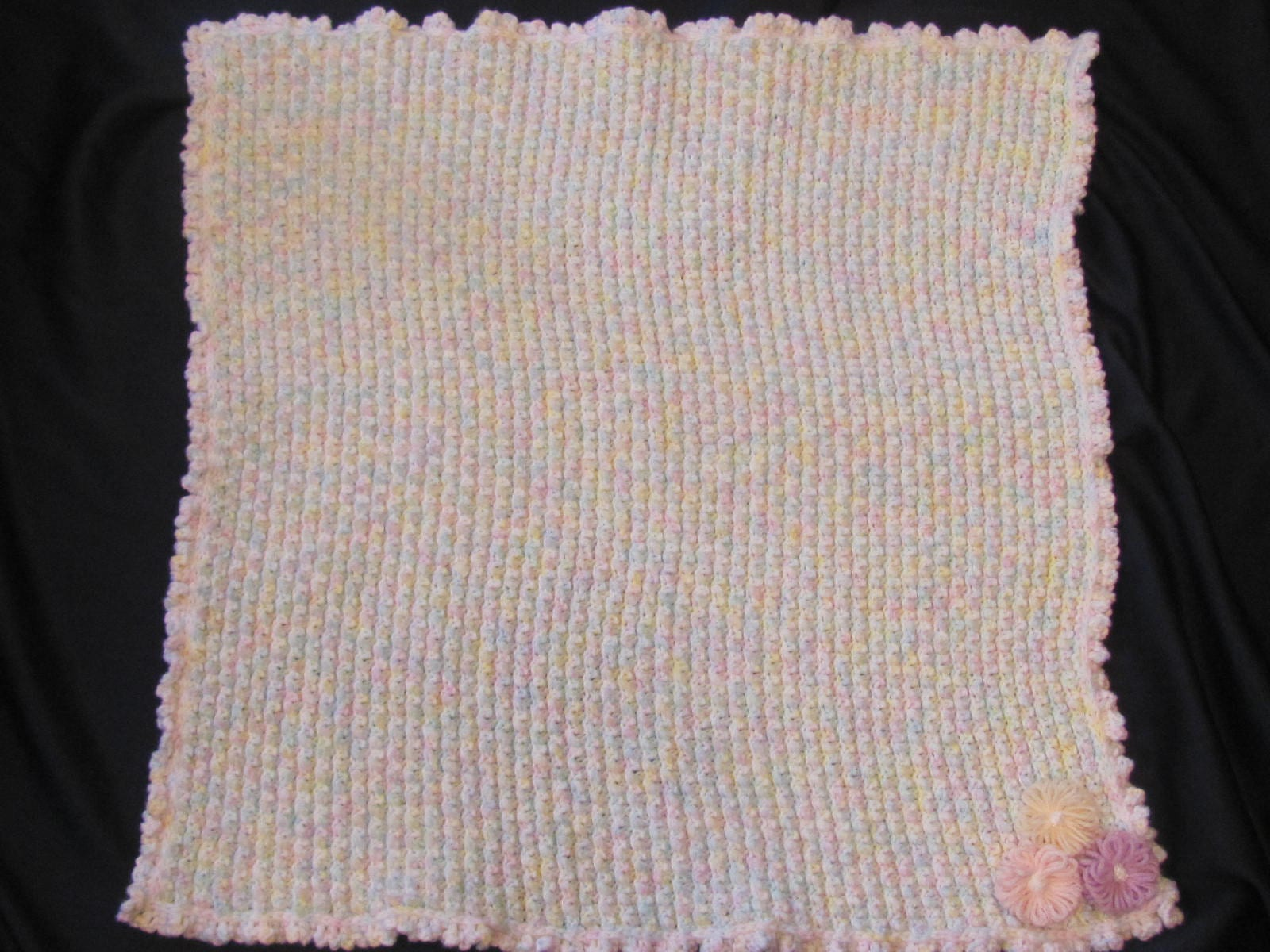 Booble Baby Blanket On MS Loom