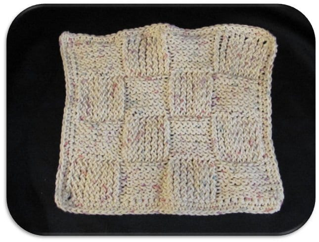 Basket Weave Dish Cloth