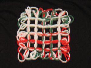 Mistletoe Hot Pad/Coaster
