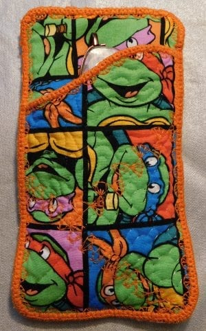Turtles Inspired Glasses Case