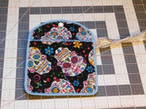 Sugar Skulls Quilted Bag