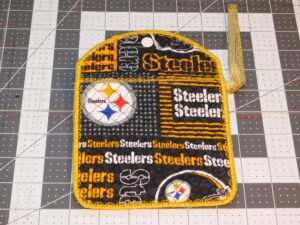 Steelers Inspired Quilted Bag