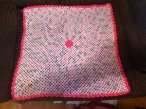Custom Granny Center Baby Blanket