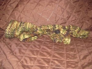 Knitted Camo Dog Sweater