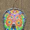 Skull Crystal Rhinestone Keychain #4